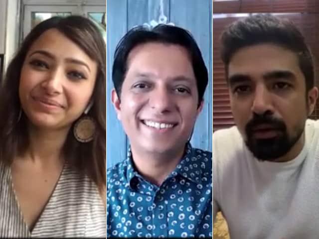 Video : <i>Comedy Couple</i> Was Shot In The Lockdown: Saqib Saleem & Shweta Basu Prasad