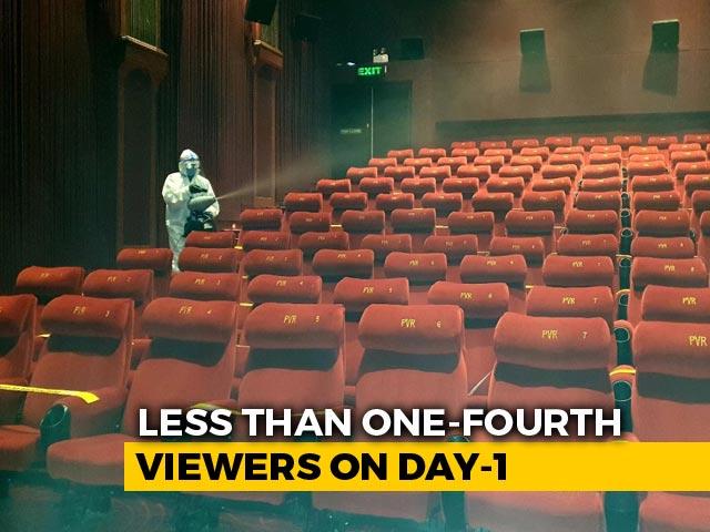 Video : 4 Arrive To Watch Movie In 150-Seat Delhi Theatre As Cinema Halls Reopen