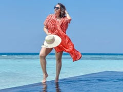 "Neha Dhupia's Pic From Maldives Is What ""Monday Blues"" Should Look Like"