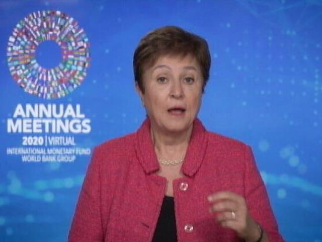 Video : IMF Chief Kristalina Georgieva Talks On Impact Of Lockdown On Economy