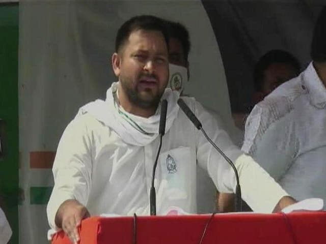 "Video : ""Nitish-Ji Stayed Home Amid Covid, Now Out For Votes"": Tejashwi Yadav"