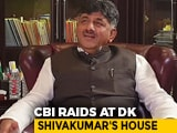 Video : CBI Raids Congress's DK Shivakumar's Premises In Alleged Corruption Case