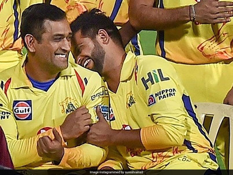 IPL 2020, CSK vs SRH: Suresh Raina Congratulates MS Dhoni As Chennai Super Kings Skipper Becomes Most Capped IPL Player