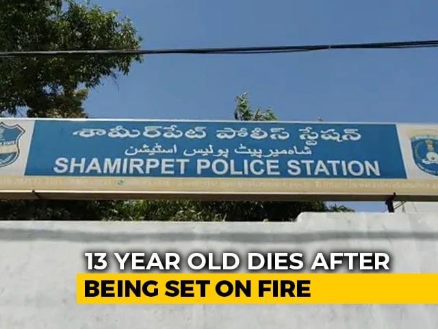 Video : Telangana Teen, Set On Fire Allegedly After She Fought Rape Bid, Dies