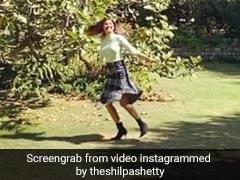 हसीन वादियों के बीच स्लो मोशन में यूं झूमती नजर आईं शिल्पा शेट्टी, वायरल हुआ Video