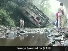5 Killed, Over 30 Injured As Bus Falls Into Gorge In Maharashtra