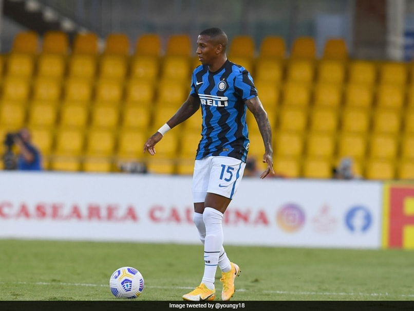 Inter Milans English Midfielder Ashley Young Tests Positive For COVID-19