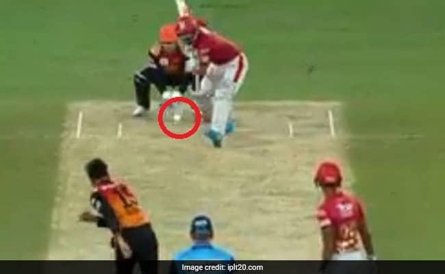 WATCH Rashid Khan magic delivery to KL Rahul IPL 2020 KXIP vs SRH