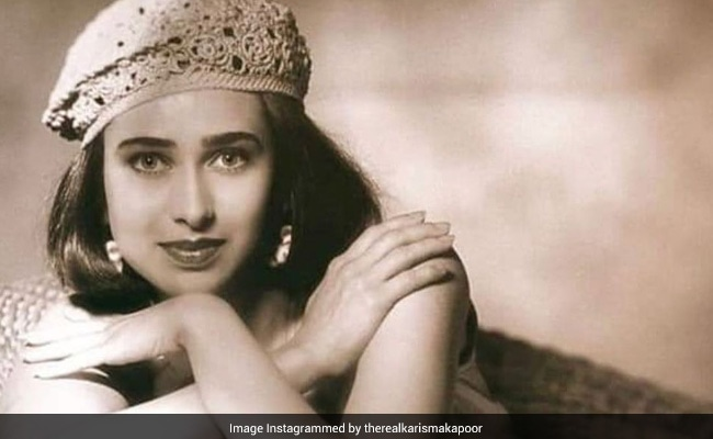 Just A Throwback Pic Of Karisma Kapoor Being Her Stunning Self