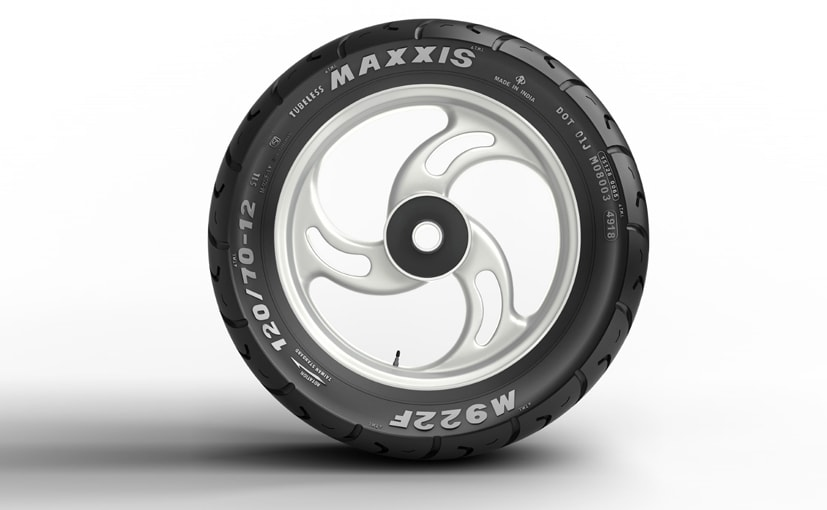 The new M922F tyre are suitable for 12-inch wheels and come with Maxxis' 5+1 unconditional warranty