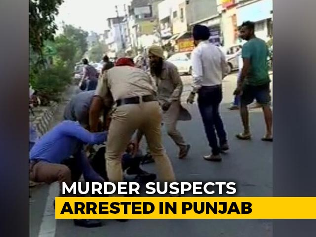 Video : Dramatic Video Shows Cops Chasing Bengal BJP Leader Murder Accused