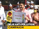"Video : Delhi Government's ""Red Light On, <i>Gaadi Off</i>"" Campaign To Cut Vehicular Pollution"