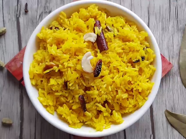 Video : How To Make Basanti Pulao | Easy Basanti Pulao Recipe Video