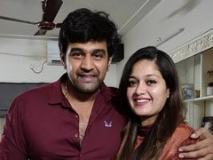 """Forever And Always,"" Writes Meghana Raj On Chiranjeevi Sarja's Birth Anniversary. Pic Inside"
