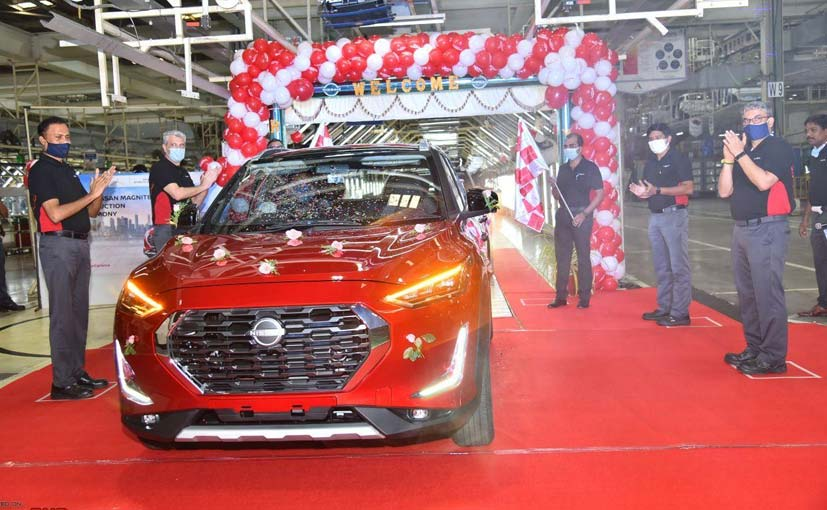 The Nissan Magnite production has commenced at the company's Chennai plant