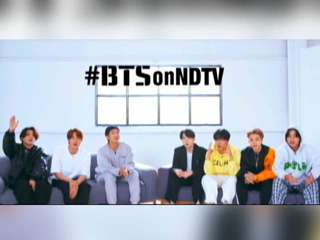 NDTV Exclusive: K-Pop Sensation BTS On Music, Stardom And More - Coming Soon