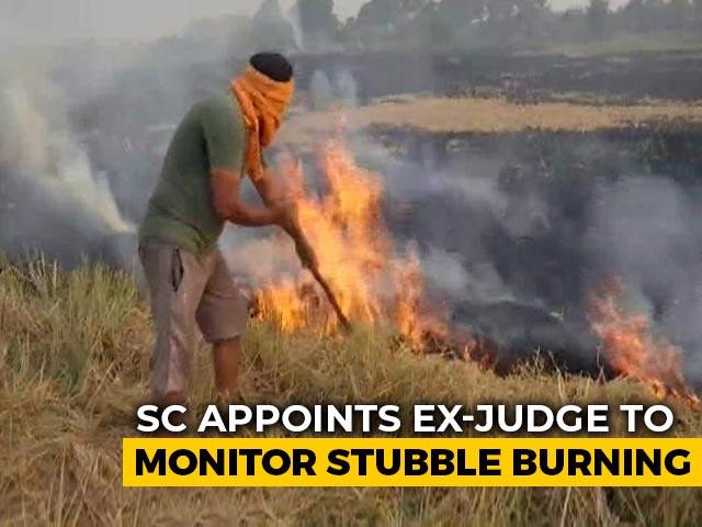 Video : Supreme Court's Big Move On Stubble Burning, Declines Centre's Request