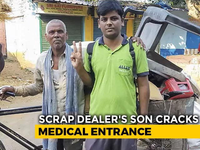 Video : Scrap Dealer's Son Clears Medical Entrance Test In Ninth Attempt
