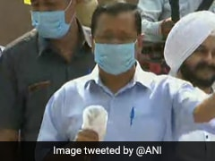 """Want Complete Rollback"" Of Farm Laws: Arvind Kejriwal Joins Protests At Jantar Mantar"