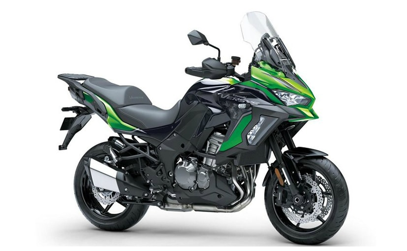 The 2021 Kawasaki Versys 1000 S is available in three sub-variants