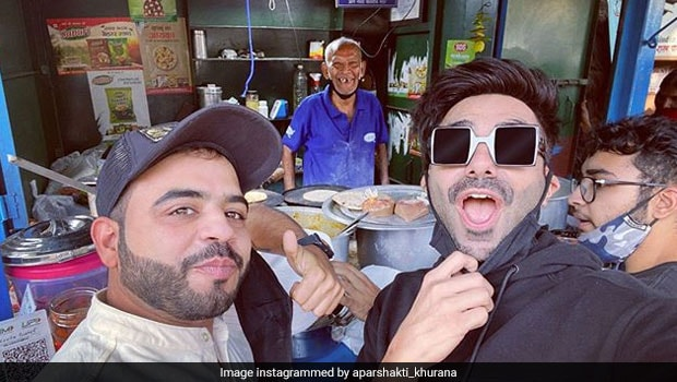 Delhi's 'Baba Ka Dhaba' Gets Surprise Visit From Actor Aparshakti Khurana