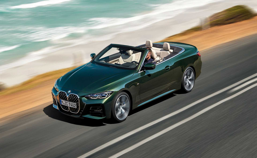 The new soft top on the BMW 4-Series convertible is 40 per cent lighter.