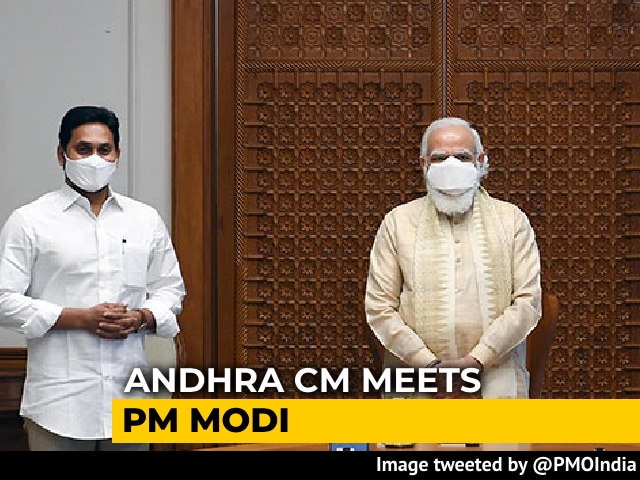 Video : Flirting With BJP? Jagan Reddy Meets PM, Days After Meeting Amit Shah