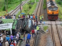18 Dead In Thailand Bus-Train Collision