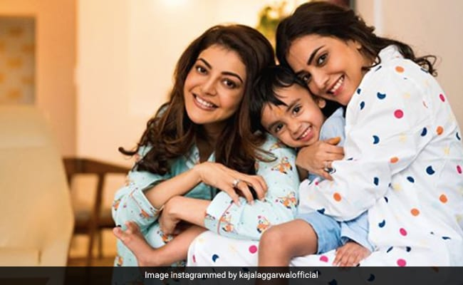 How Kajal Is Spending Her 'Last Days' As Ms Aggarwal - Count In A Pyjama Party