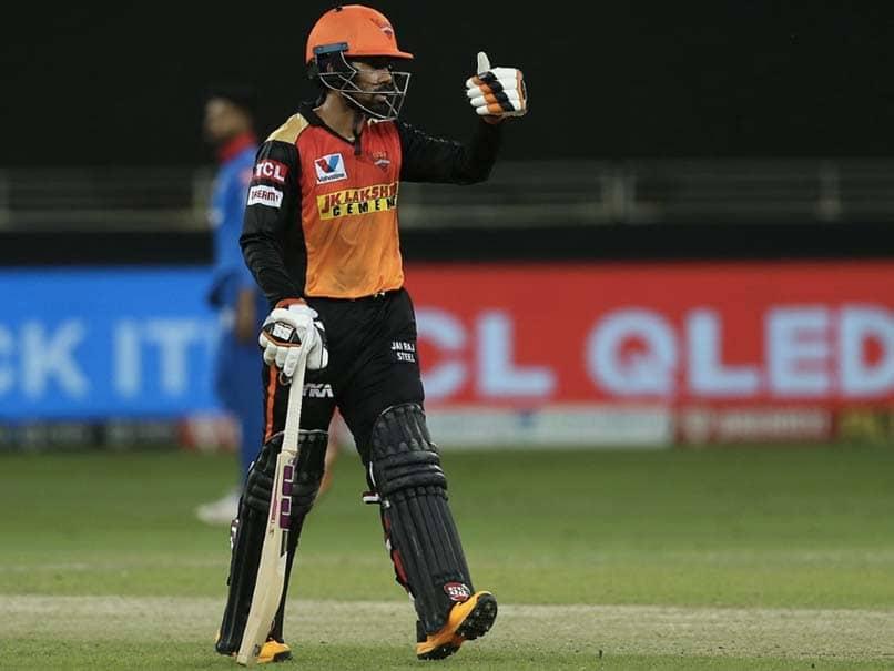 आईपीएल 2020, एसआरएच बनाम डीसी: रिद्धिमान साहा ने दिल्ली की राजधानियों के खिलाफ मैच-विनिंग नॉक के बाद प्रतिक्रिया दी