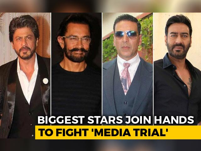 Bollywood Stars Join Hands To Fight 'Media Trial'