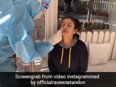 Raveena Tandon KGF 2 की शूटिंग के लिए पहुंची डलहौजी, कैमरे के सामने यूं कराया कोरोना टेस्ट- देखें Video