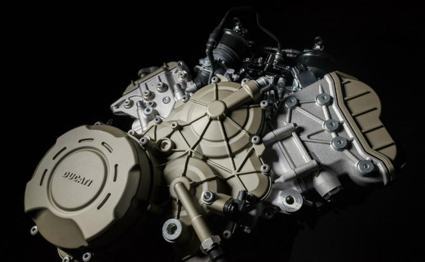 The Desmosedici Stradale V4 engine will make around 170 bhp on the Multistrada V4