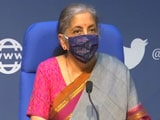Video : Finance Minister Nirmala Sitharaman On Proposals To Stimulate Demand