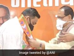 Ahead Of Madhya Pradesh Bypolls, Congress MLA Joins BJP