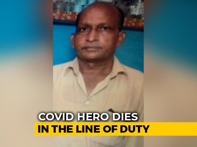 Video : Ambulance Driver, Who Carried Covid Patients' Bodies, Dies Of Coronavirus