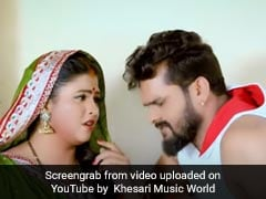 Bhojpuri Gana: खेसारी लाल यादव ने 'सरकार चलइले बा' का गाने से मचाया धमाल, बार-बार देखा जा रहा Video