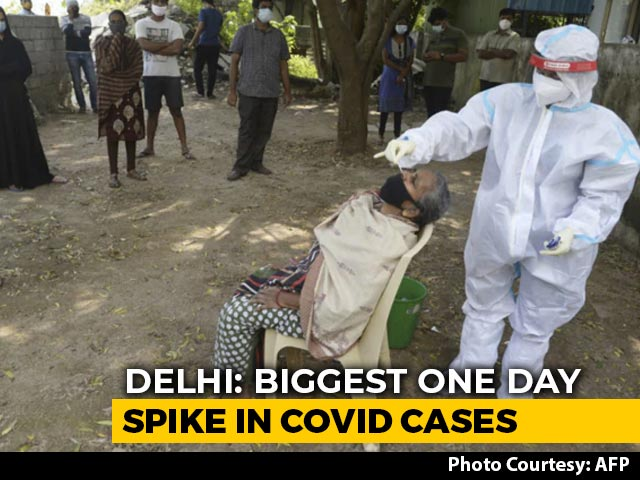 Video: Coronavirus Daily Cases Cross 5,000-Mark In Delhi