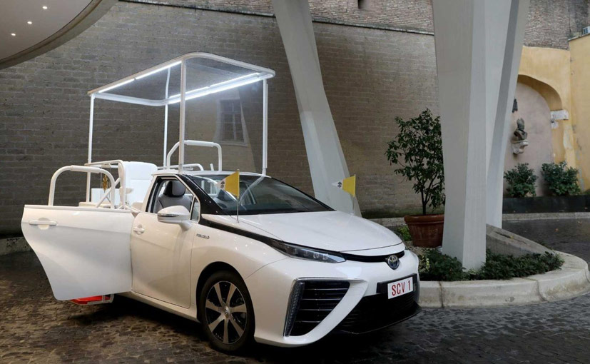 Toyota Mirai To Be The Next Official Popemobile