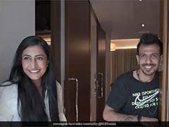 IPL 2020: Yuzvendra Chahal Reacts To Fiancee Dhanashree Verma's Surprise Before IPL Match. Watch