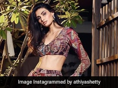 Athiya Shetty's Colourful <i>Lehenga</i> Is A Game Changer For Sustainable Fashion