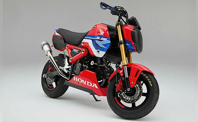 The Honda Grom HRC will be used for a one-make championship in Japan