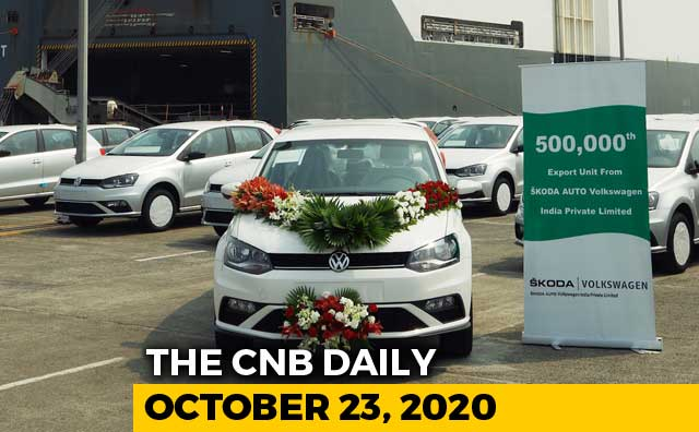 Video : VW 5 Lakh Export, Honda SP125 Export, Ashok Leyland Boss Trucks