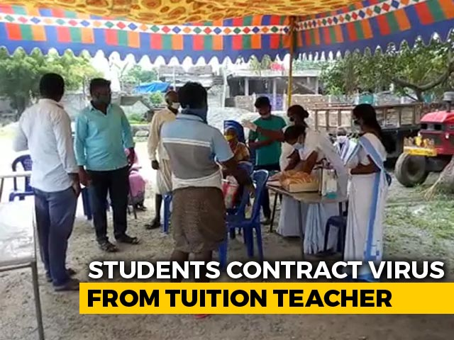 Video : 14 Andhra Students Contracted Covid From Tuition Teacher: Officials