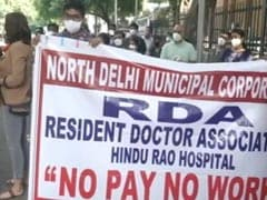 About 700 Doctors At Delhi Civic-Body Hospitals Go On Indefinite Strike Over Pending Salaries