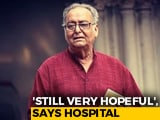 Video : Covid+ Soumitra Chatterjee Still Drowsy, Jittery, Confused, Say Doctors