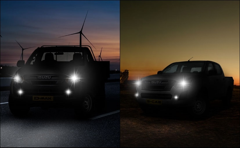Isuzu has teased the new D-Max pickup truck on its official website