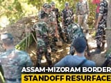Video : Assam-Mizoram Border Blockade Back Within A Week Of Resolution