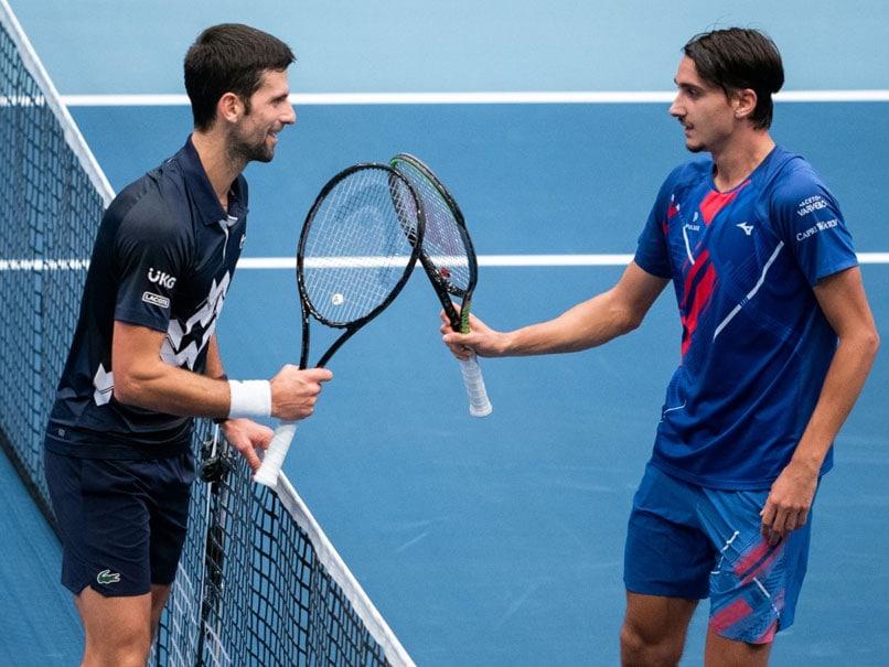 Novak Djokovic Suffers Heaviest Loss To Lucky Loser Lorenzo Sonego In Vienna
