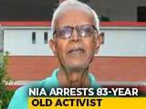 Video : Activist Stan Swamy, 83, Arrested By NIA In Koregaon-Bhima Case